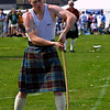 Young Hammer Thrower North Berwick Highland Games 2003