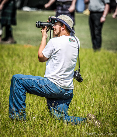 Shooter in the grass