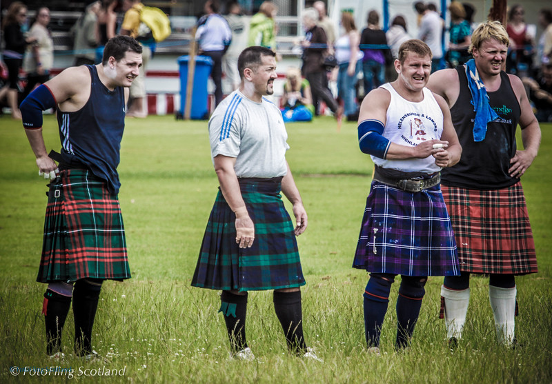 Heavies Cupar Highland Games 2009