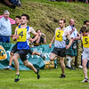 Lee Goodfellow leads the race at Ceres Highland Games 2013