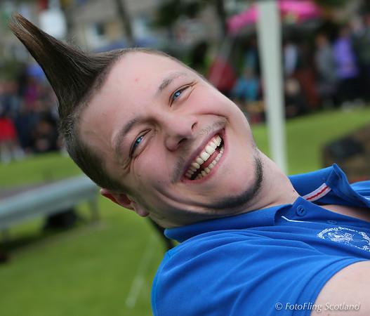 Scott Carson - Scottish Backhold Wrestler