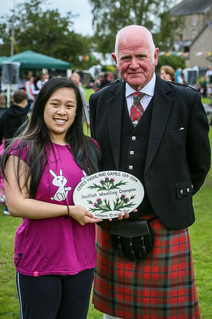 Mandy Li - Scottish Wrestling Champion (Womens 10 st 7lbs)