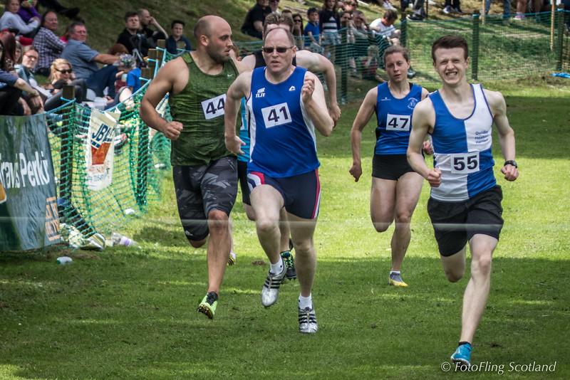 On the run!