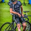 Resting Cyclist