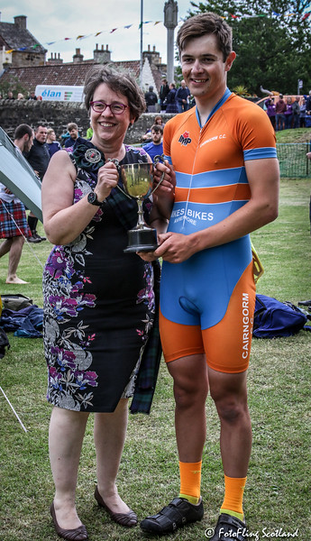 Winner: 1600 metres SHGA Cycling Championship - Charles Fletcher (Grantown on Spey)