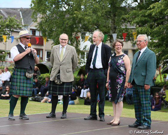 Opening Ceremony: Ceres Highland Games