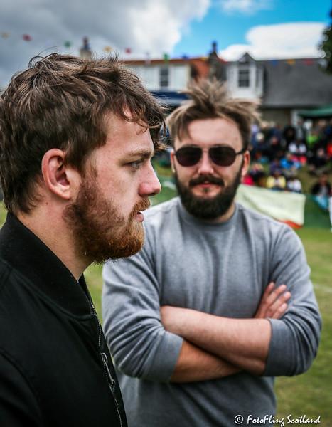 Beards: Max Freyne & Matthew Southall