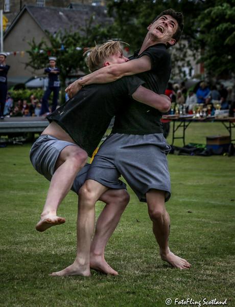 Wrestlers: George Reid & Ryan Ferrey