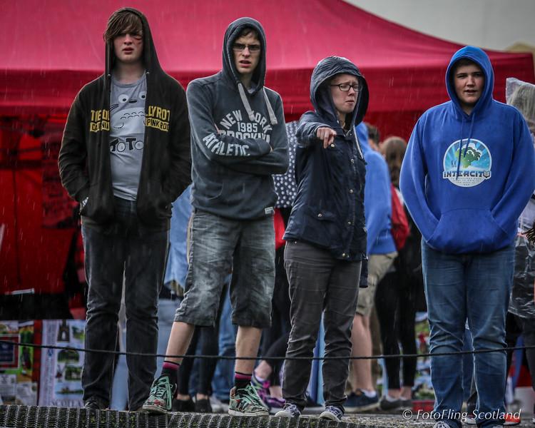 Hooded Spectators