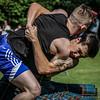 Wrestlers, Ryan Ferrey and Cameron Horne