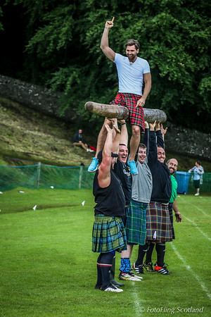 Alex Keen Rides the Caber