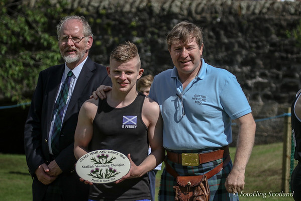 Scottish Wrestling Champion Mens 10st 7lbs:  Ryan Ferrey