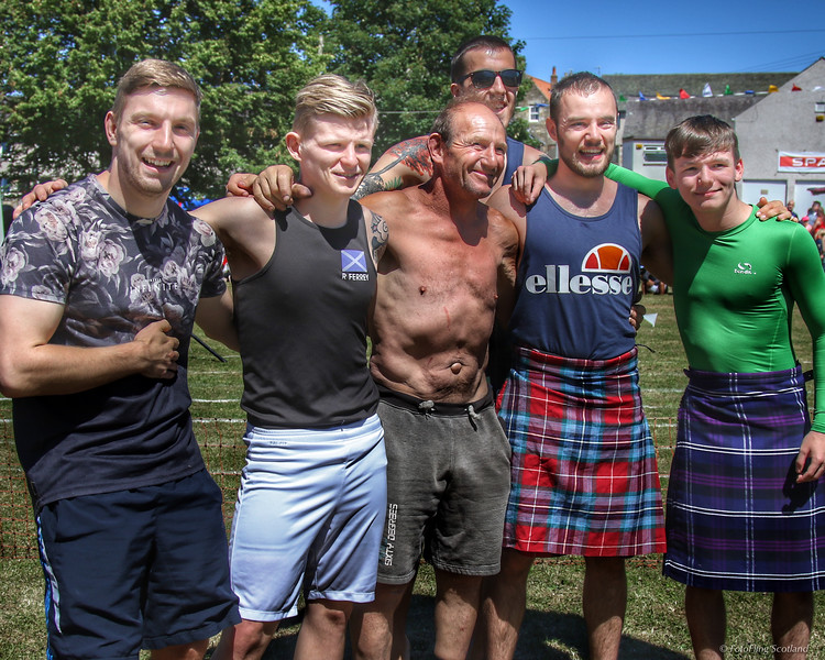 Scottish Backhold Wrestlers