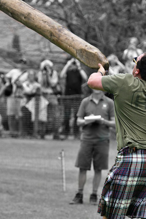 Caber Throw - Kyle Randalls