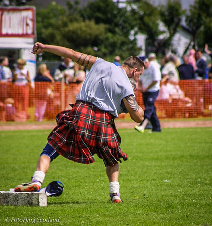 Put the Shot! Inverkeithing Games 2001