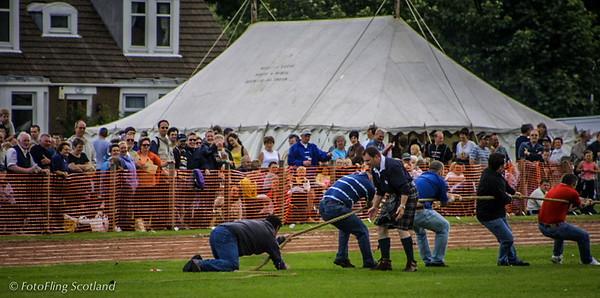 Tug O' War Inverkeithing Games 2001