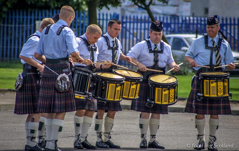 The Highlanders' Drummers