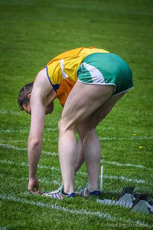 Toe Touching Athlete
