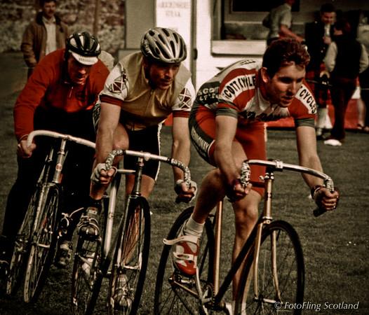 Three Cyclists