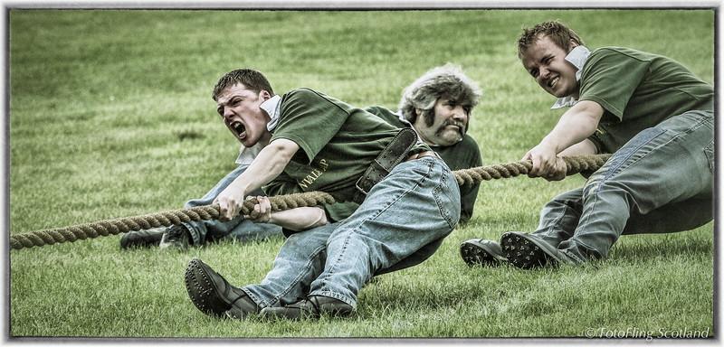 Strathardle Tug O' War Team