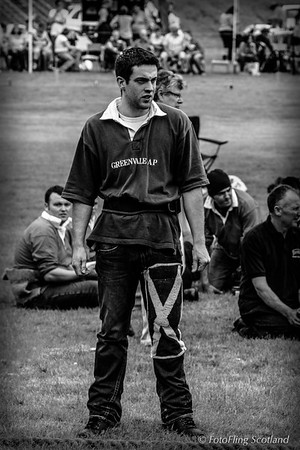 Strathardle Tug O' War Team Member