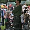 Kilting at Strathmore Highland Gathering