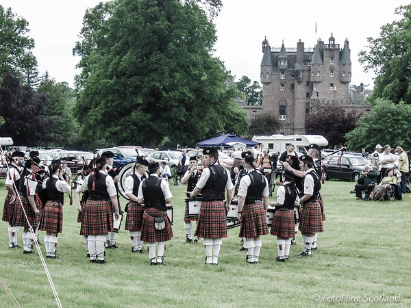 Piping at Glamis