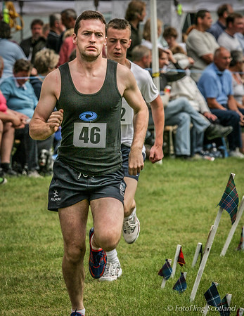 Athletics at Strathmore Highland Gathering