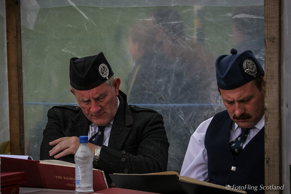 Solo Piping Competition Judges