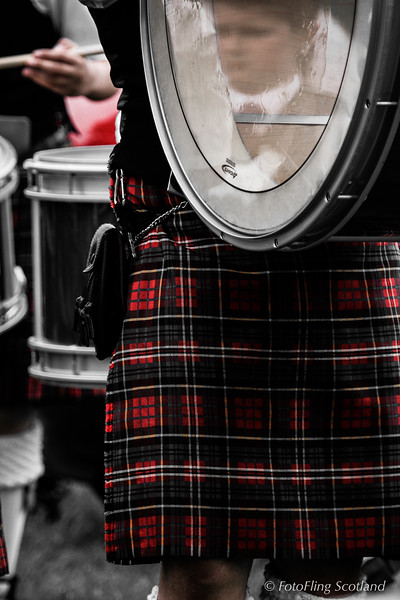 Reflection in the drum