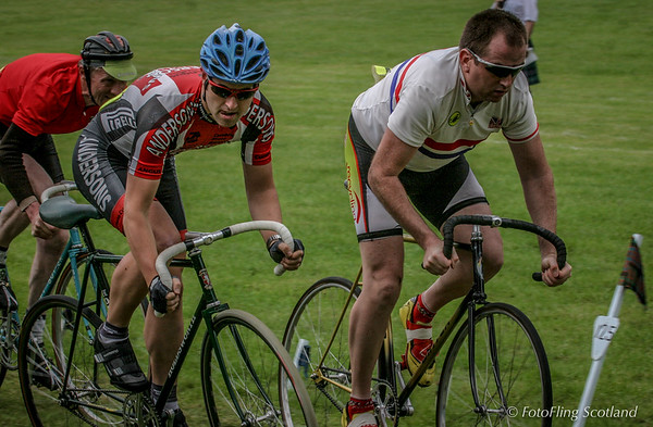 Cycling at Strathmore Highland Gathering