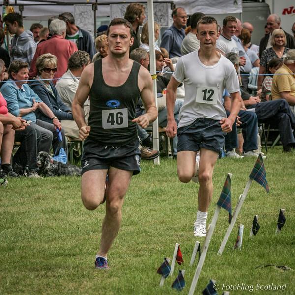 Athletics at Strathmore Highland Gathering