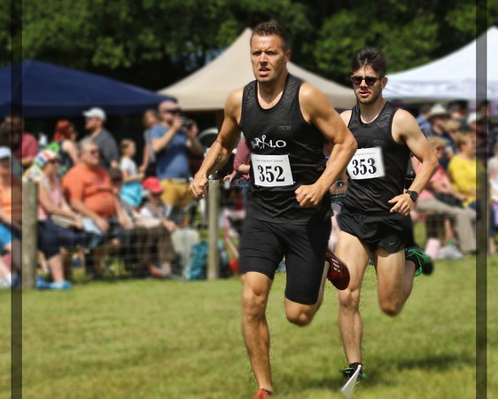 Runners - Colin Welsh and Rory Anderson