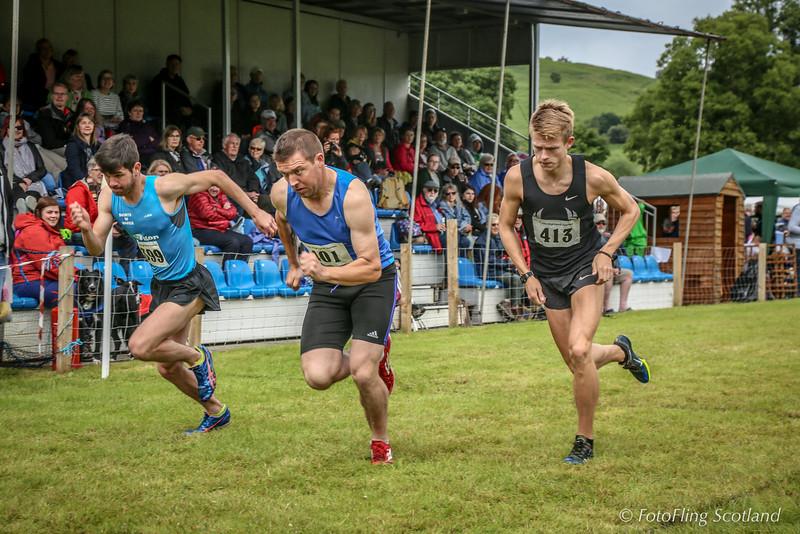 Athletes on the run