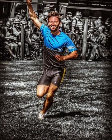 Lee Goodfellow - Obstacle Race Winner