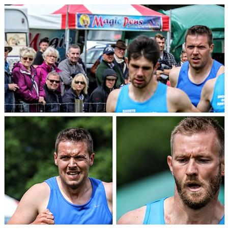 Athlete Collage: Rory Anderson, Colin Welsh & Bruce Hughes