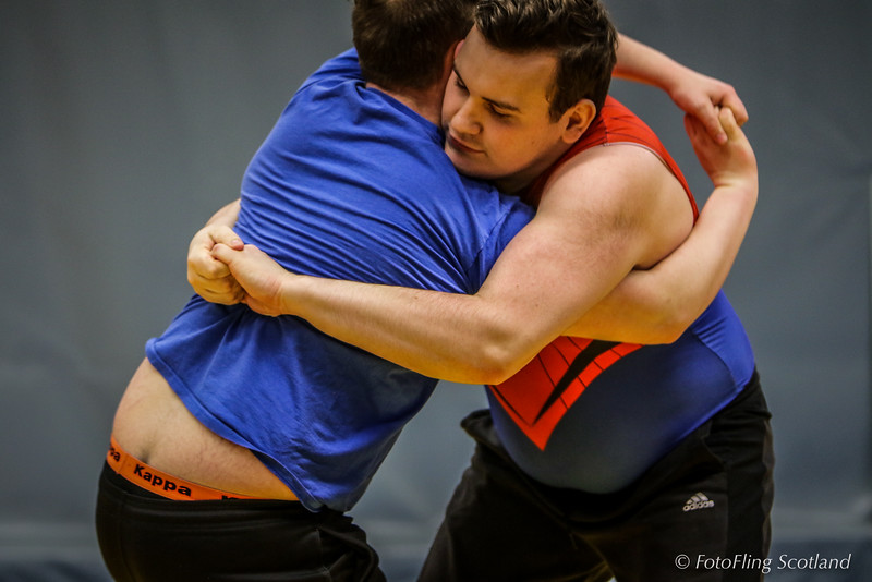 Backhold Wrestlers at Reykjavik International Games