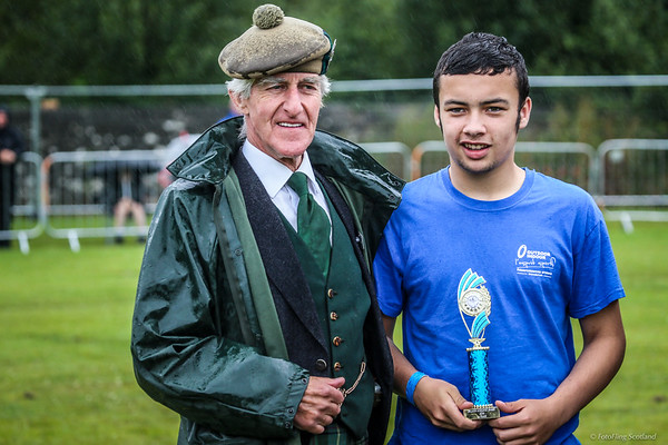 Aaron Mellia -  Junior 10st 7lb Scottish Champion
