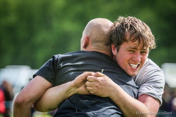 Scottish Backhold Wrestling at Blair Atholl Gathering 2014