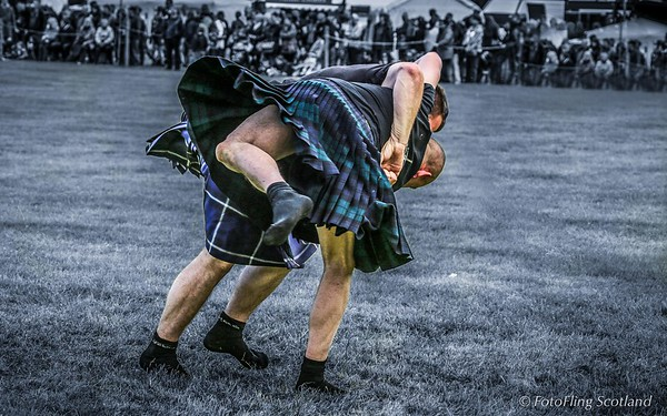 Scottish Backhold Wrestlig