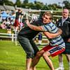 Anton Antonov wrestles with Breton