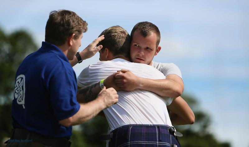 Scottish Backhold Wrestling - Ryan Dolan & Anton Doherty