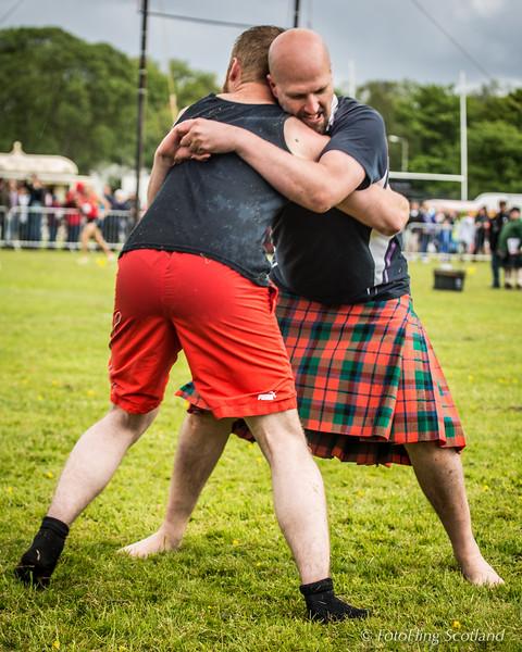 Callum Maclean & Dave McNaughton (kilted)