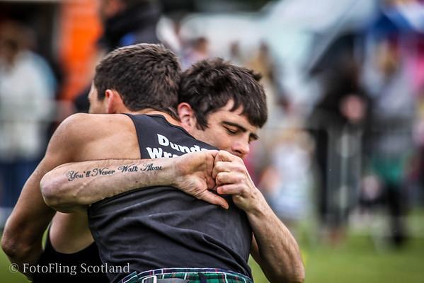 You'll Never Walk Alone ! Backold Wrestling at Helensburgh Highland Games