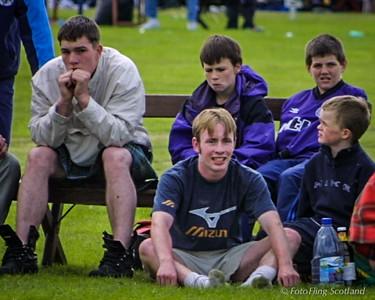 Scottish Backhold Wrestling at Bridge of Allan Games 2001