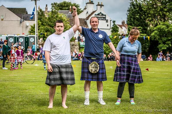 Scottish Backhold Wrestling at Ceres Games 2013