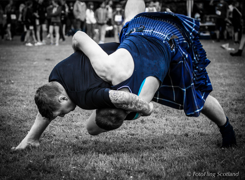 Scottish Backhold Wrestling - David Strachan and Frazer Hirsch