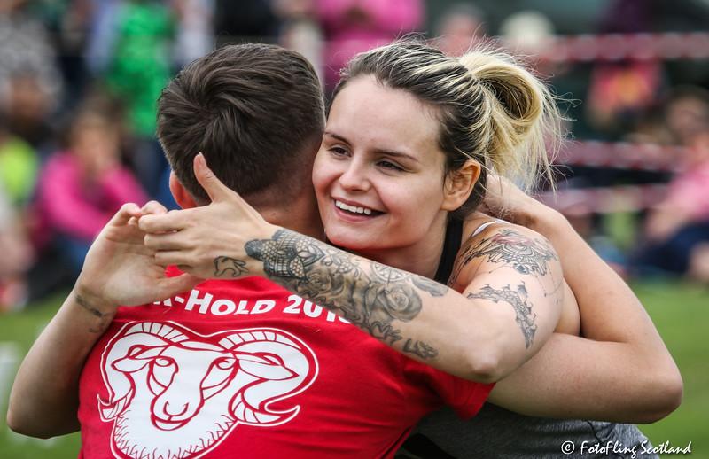 Backhold Wrestlers: Dean Whyte & Victoria Kirk