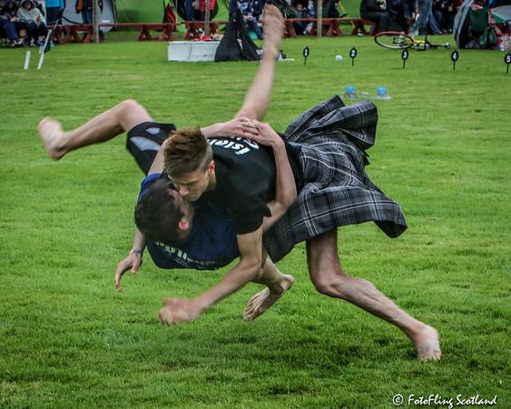 Scottish Backhiold Wrestling