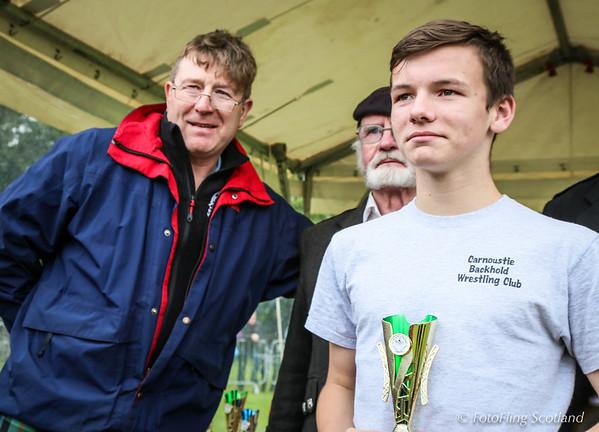 Junior Backhold Wrestler Prize Winner: Dean Whyte
